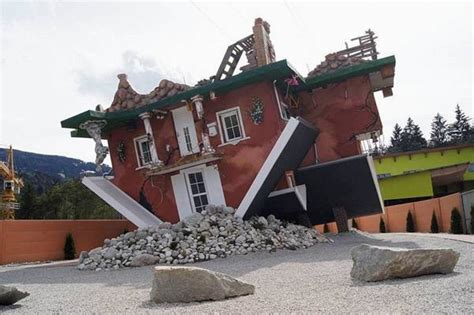 99 WOW: Buildings Toppled Upside Down Around The
