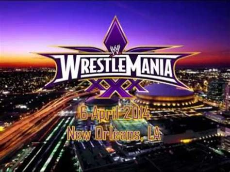WWE: WrestleMania 30 Promo and Logo Official - YouTube