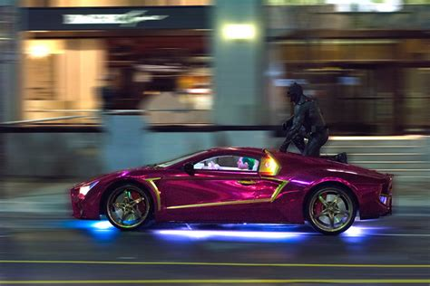 """A Closer Look at the Jokermobile From """"Suicide Squad"""